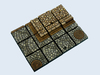 Cobblestone Bases, 25x25mm (5)
