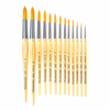 Da Vinci Series 303 Junior Round Synthetic Brushes - Size 1 / Ø 1.6mm