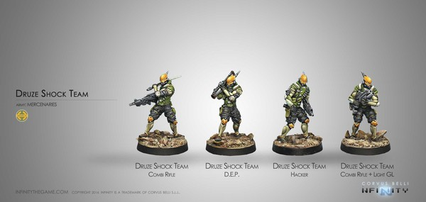 Druze Shock Team Old Sculpt