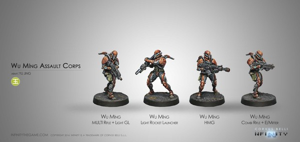 Wu Ming Assault Corps Old Sculpt