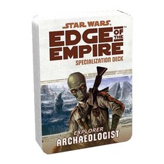 Edge of the Empire Specialization Deck: Archaeologist