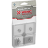 Clear Bases and Pegs Accessory: X-Wing Mini Game