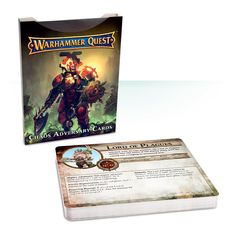 Warhammer Quest: Chaos Adversaries Cards