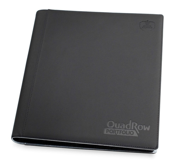 12-Pocket QuadRow Portfolio XenoSkin - Black