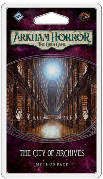 Arkham Horror LCG: The City of Archives Mythos Pack