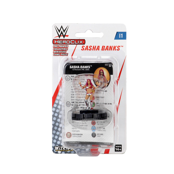 WWE HeroClix: Sasha Banks Expansion Pack