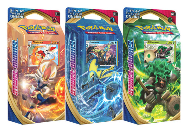 Sword and shield Theme Deck