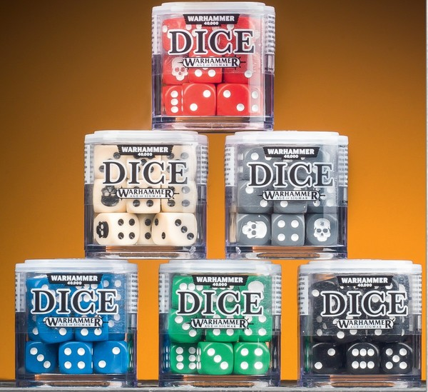 Dice Cube - Assorted Colours