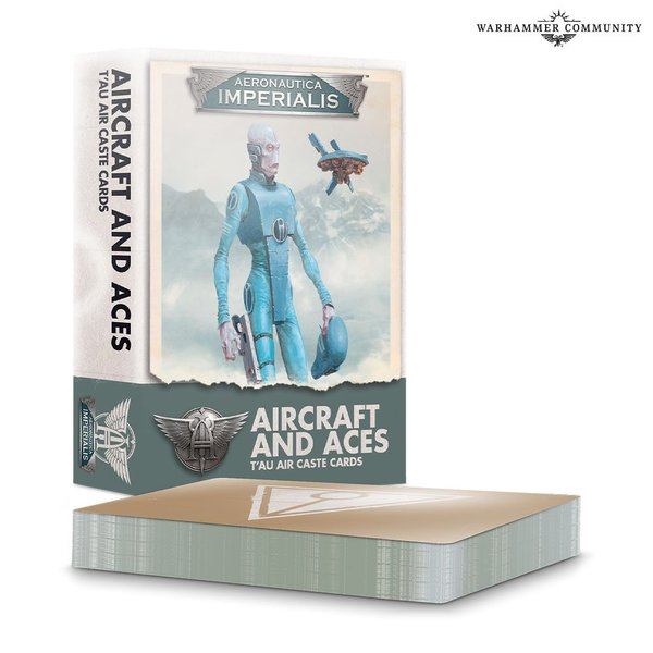 Aeronautica Imperialis: Aircraft and Aces – T'au Air Caste Cards