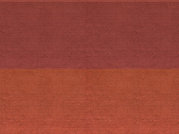 3D Cardboard Sheet: Plain Tile: Red