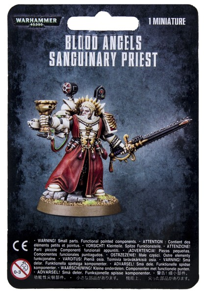 Blood Angels: Sanguinary Priest