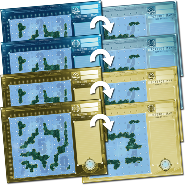 Captain Sonar: Foxtrot Map
