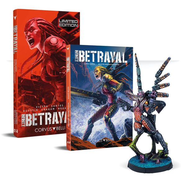 Infinity: Betrayal Graphic Novel Limited Edition
