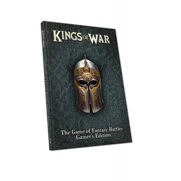 Kings of War Core Rules Book (Third Edition) Gamer's Edition