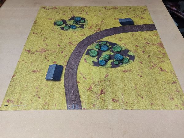 3ftx3ft Second Hand Gaming Mat