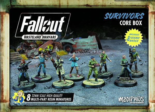 Fallout Wasteland Warfare: Survivors Core Box