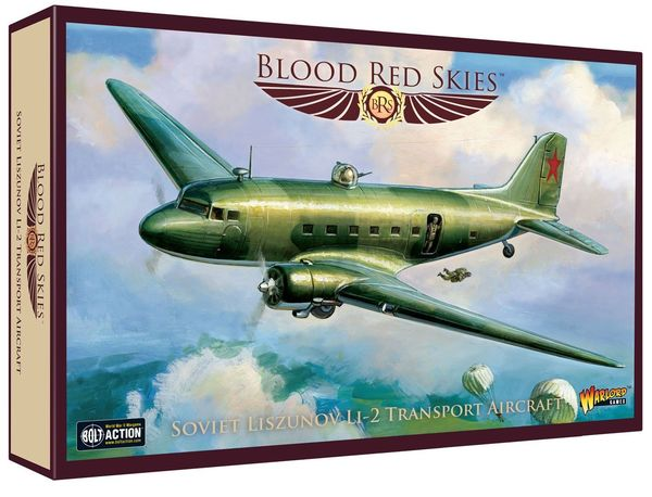Blood Red Skies: Soviet Liszunov Li-2 Transport Aircraft