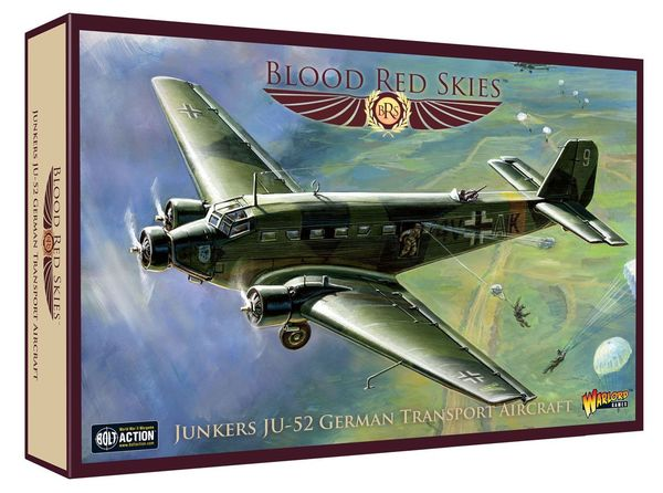 Blood Red Skies: Junkers JU-52 – German Transport Aircraft