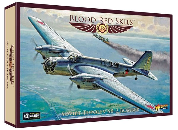 Blood Red Skies: Soviet – Tupolev ANT-40 (SB-2) Bomber