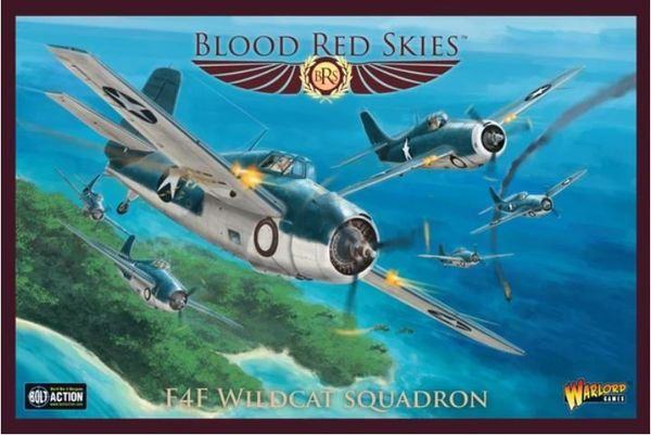 Blood Red Skies: F4F Wildcat Squadron