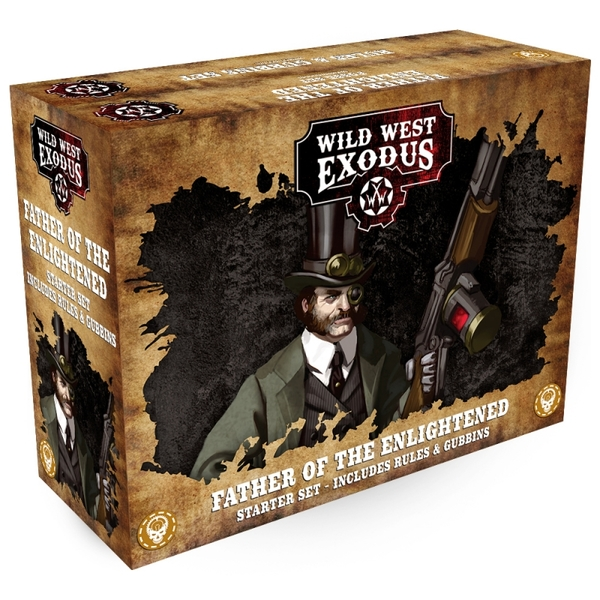 Wild West Exodus: Father of the Enlightened Starter Set