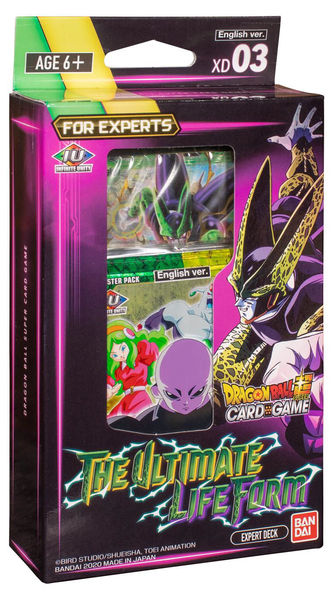 Dragon Ball Super Card Game The Ultimate Life Form Starter Deck