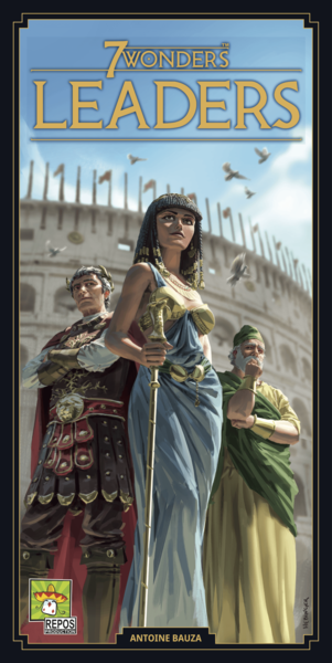 7 Wonders (Second Edition): Leaders