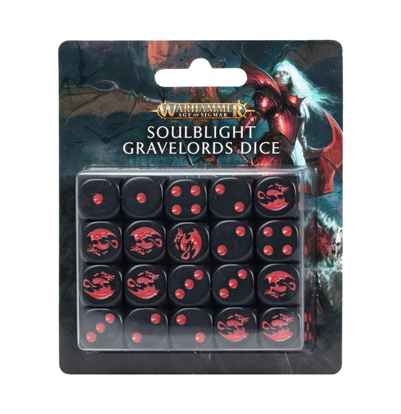 Soulblight Gravelords: Dice set