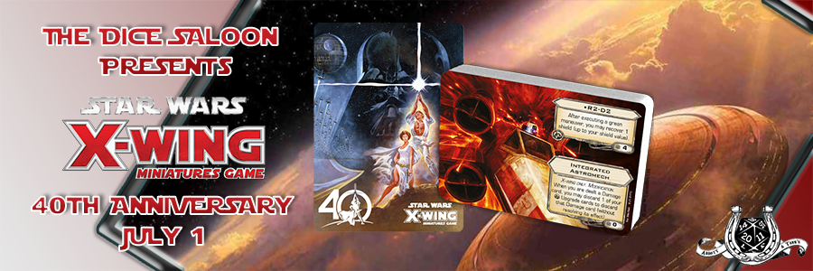 40th ds x wing banner